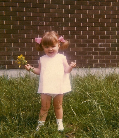 Showing my knickers even back then!